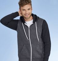 SOL`S Hooded Zipped Jacket Silver