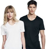 Continental Clothing Unisex Scooped Neck T-shirt