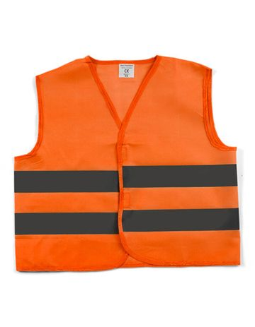 Safety Jacket, Warnweste mit Reflektionsstreifen