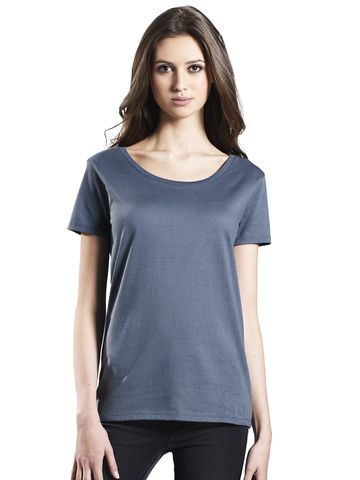 EarthPositive EP09 women's open neck t-shirt